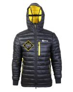 Men's Challenger Thermal Jacket - Black/Yellow - With Event Patch