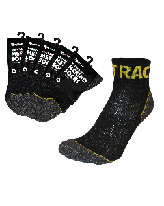 Endurance Merino Sock 5 Pack - Yellow/Black