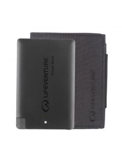 Lifeventure - RFiD Charging Wallet Recycled - Grey