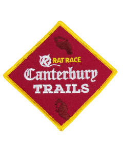 Canterbury Trails Sew On Patch