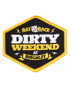 Dirty Weekend Sew On Patch