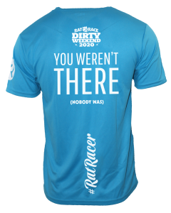 Dirty Weekend 2020 - Virtual Run T-Shirt - Blue