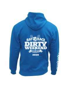 Dirty Weekend 2020 Hoodie - Blue/Electric Yellow