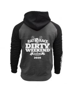 Dirty Weekend 2020 Hoodie - Grey/Black