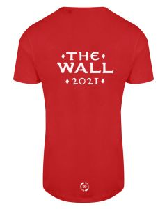 The Wall 2021 - Eco Tech Tee - Red