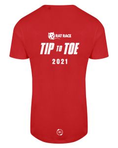 Tip To Toe 2021 - Eco Tech Tee - Red