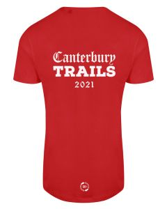 Canterbury Trails 2021 - Eco Tech Tee - Red