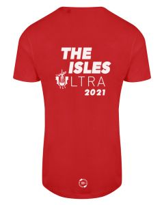 The Isles Ultra 2021 - Eco Tech Tee - Red