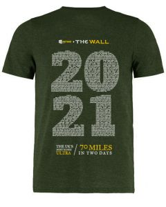 The Wall 2021 Finisher Eco Tee - Green - TWO DAY