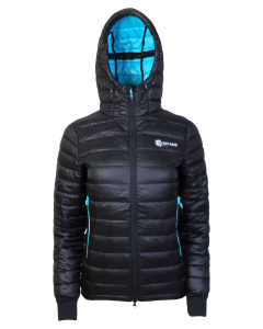 Women's Challenger Thermal Jacket - Black/Aqua