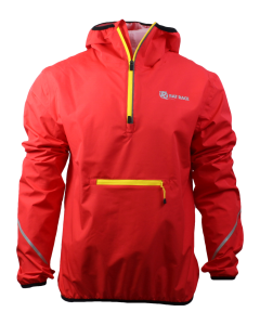 Kit List Waterproof Smock - Red/Reflect