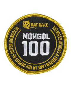 Mongol 100 Sew On Patch