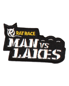 Man Vs Lakes Sew On Patch