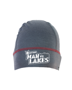 Rat Race - City to Summit Merino Beanie - Grey/Red - Man vs Lakes
