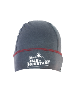 Rat Race - City to Summit Merino Beanie - Grey/Red - Man vs Mountain