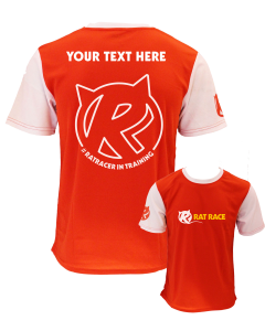 Rat Racer in Training Tee - Red/White