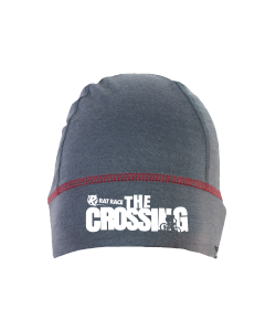 Rat Race - City to Summit Merino Beanie - Grey/Red - The Crossing