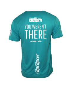 The Crossing 2020 - Virtual Run T-Shirt - Turquoise