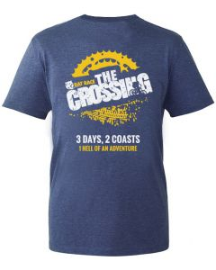 The Crossing 2021 - Finisher T-Shirt - Navy Marl