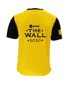 The Wall 2020 Race Tee - Yellow/Black - Customisable