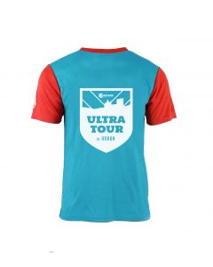 Ultra Tour Arran 2020 Race Tee - Blue/Red - Customisable