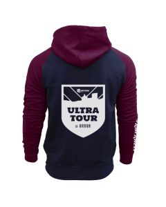 Ultra Tour Arran 2020 Hoodie - Navy/Burgundy