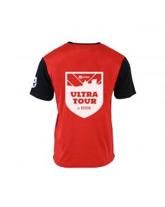 Ultra Tour Arran 2020 Race T-Shirt - Red/Black - Customisable