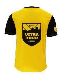 Ultra Tour Arran 2020 Race Tee - Yellow/Black - Customisable