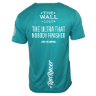 The Wall 2020 - Virtual Run T-Shirt - Turquoise